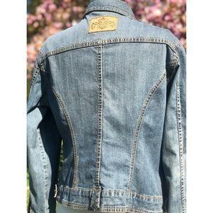 CAbi jeans denim jacket XL